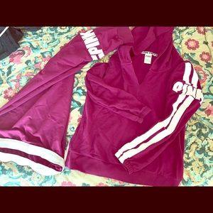 Rare Victoria's Secret PINK sweat suit